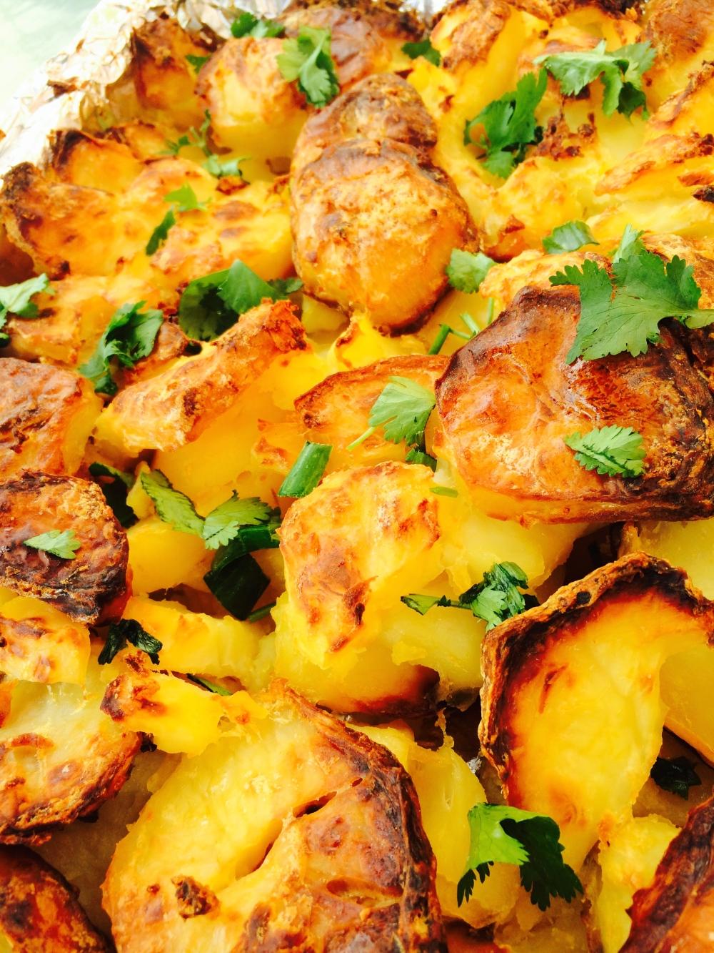 Caramelised Baked Potatoes