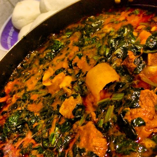 Efo Riro (Vegetable Stew)